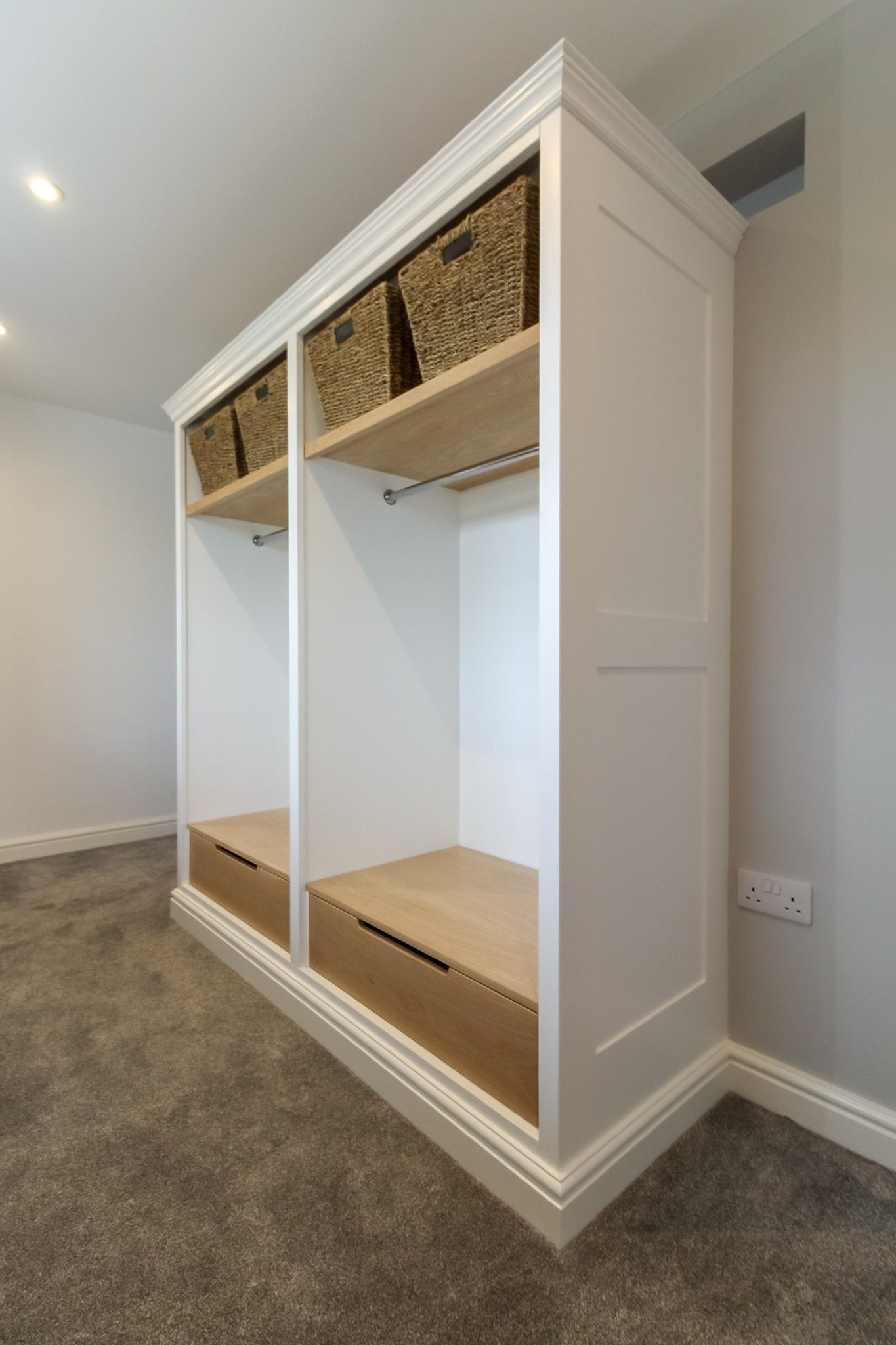 Dressing room fitted in Burton upon Trent by TW Bespoke
