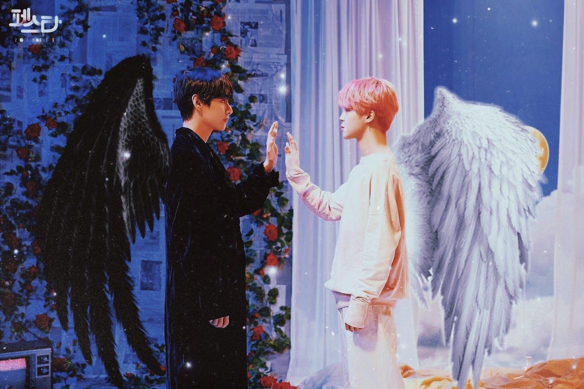 BTS Festa × BTS Via Twitter 02-06-2019 Evil Vs Angel Edit