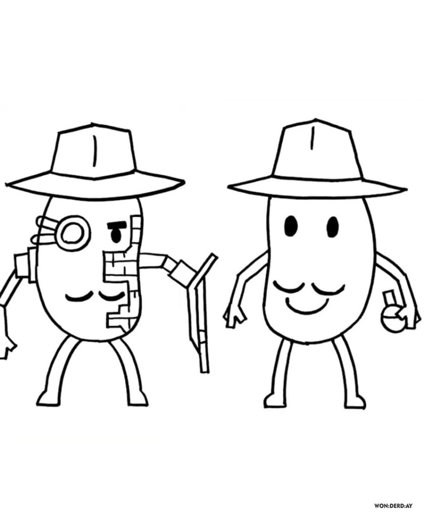 Coloring Pages Roblox Piggy Adopt Me And Others Print For Free Coloring Pages Cool Coloring Pages Free Coloring Pages