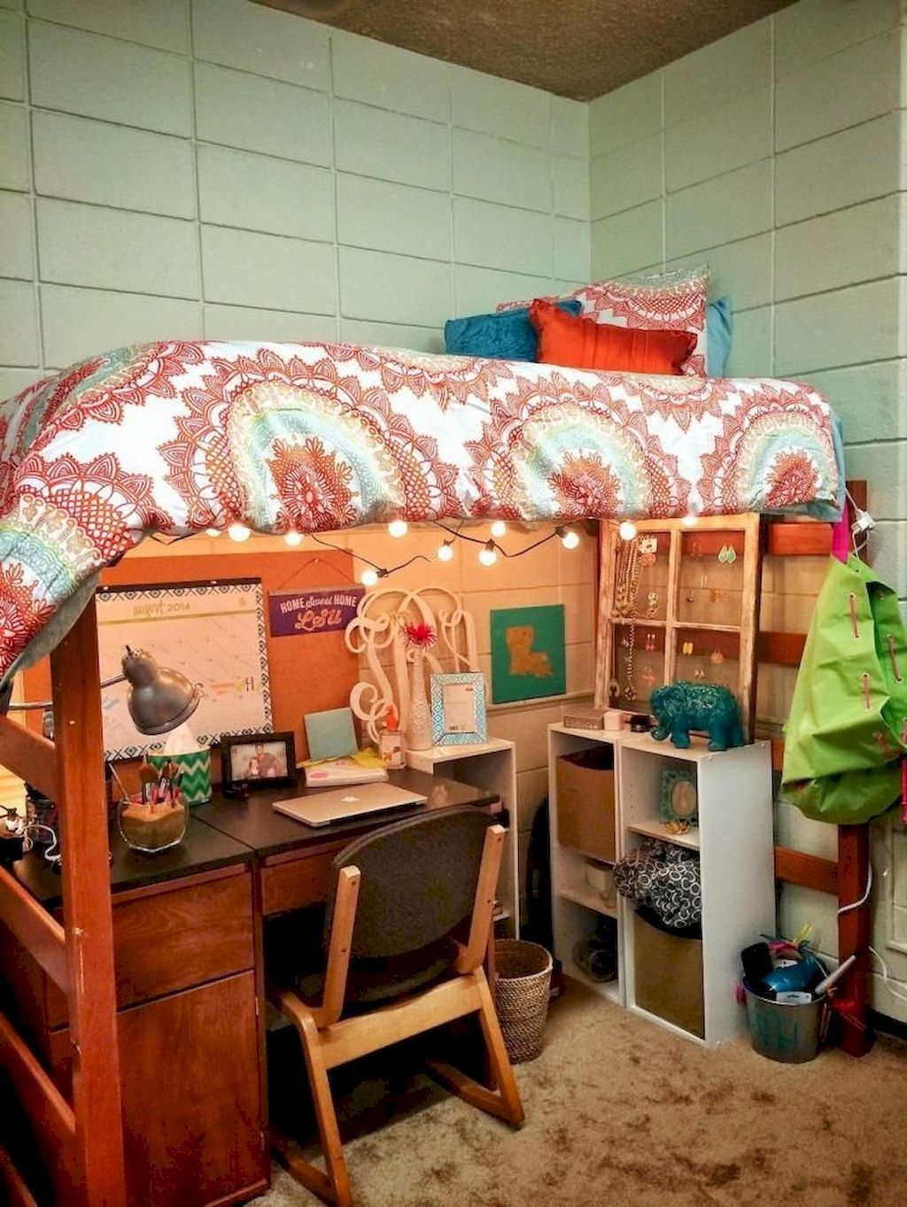 Creative Dorm Room Storage Organization Ideas DIY College Dorm Room on A Budget images