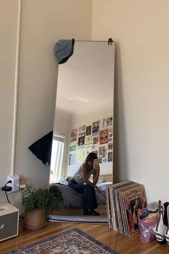 Photo of Formas chulas de poner un espejo en un rinconcito de tu habitación