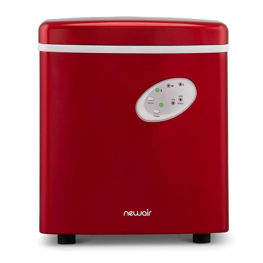 Newair 28 Portable Countertop Ice Maker Red Nim028re00 In 2020
