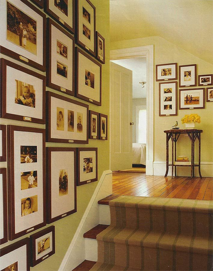 Cool Family Photo Gallery Wall Ideas Images - Wall Art Design ...
