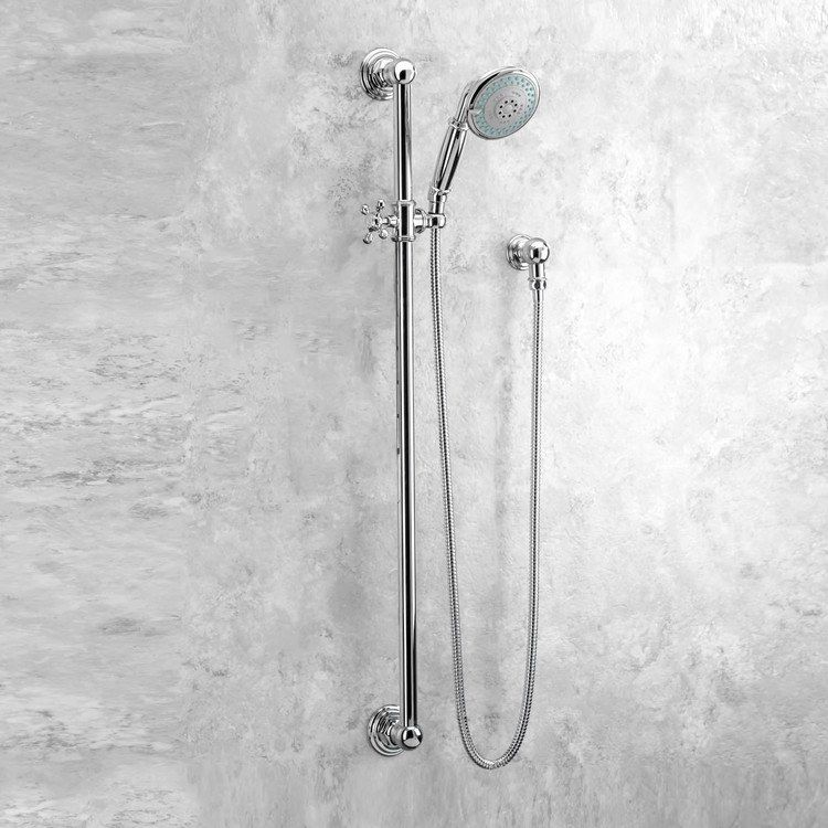 Newport Brass 280e 26 Traditional Three Function Handshower Set