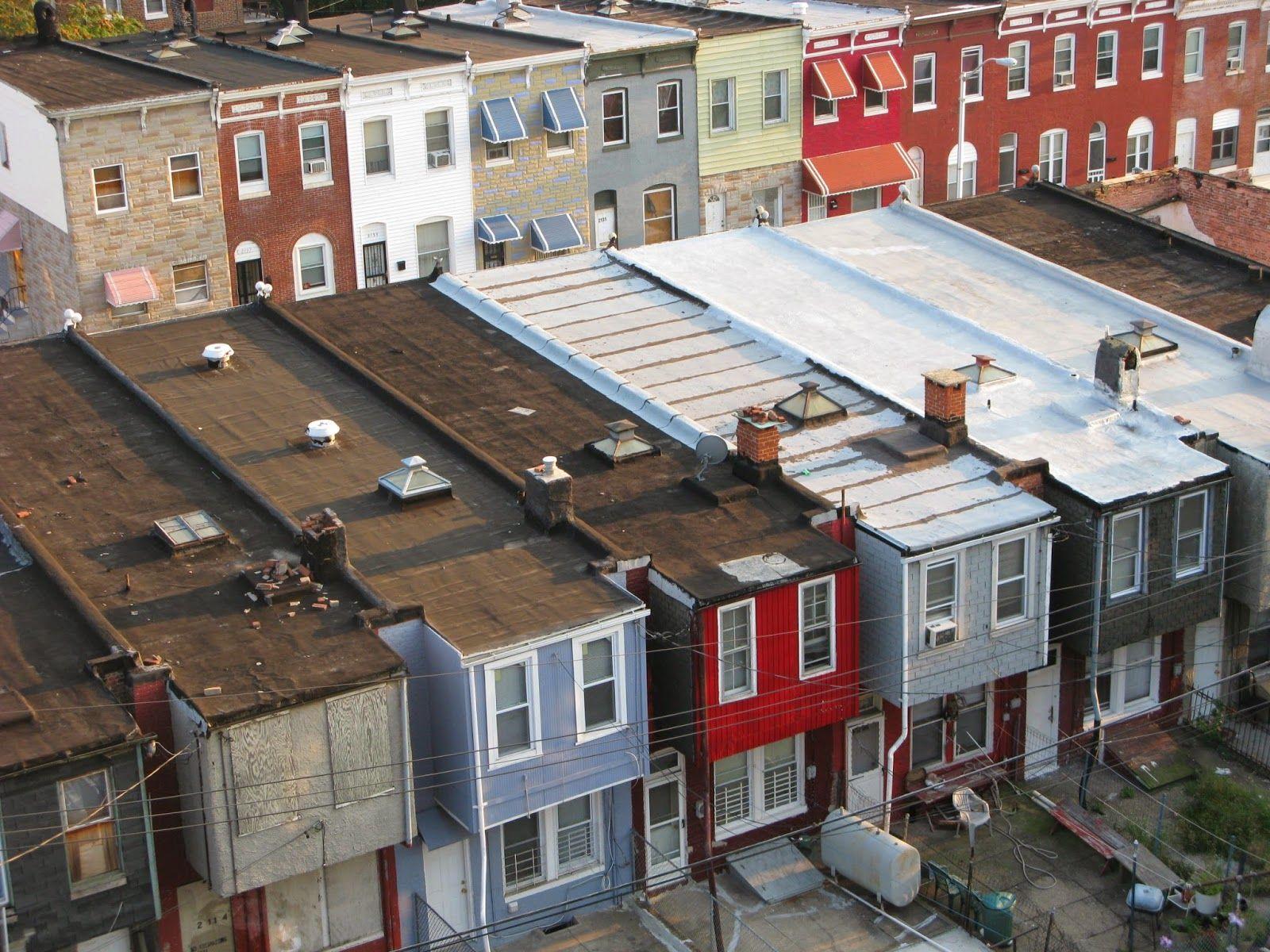 Rough Neighborhood Of Compton Ca Flat Roof Roof House Styles