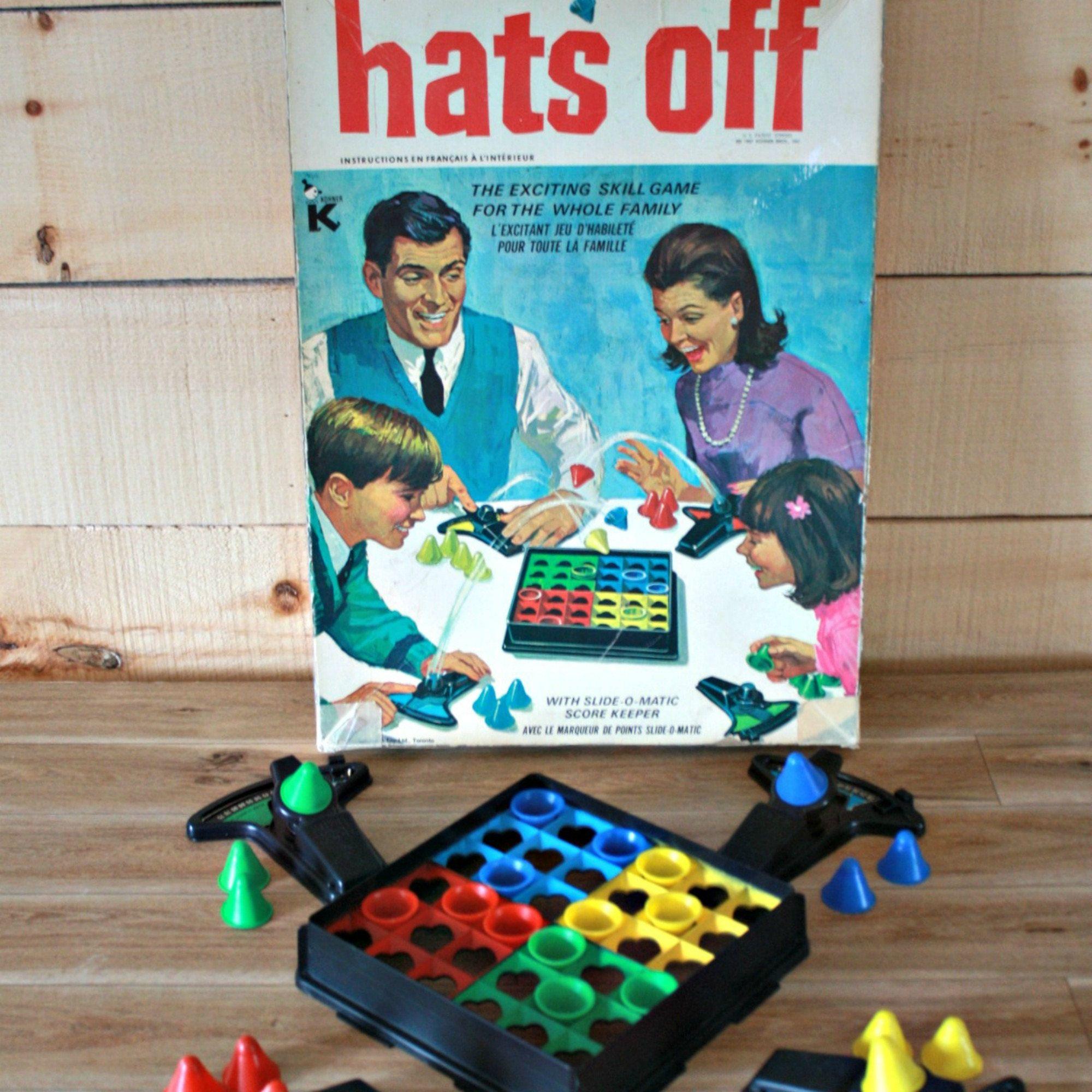 hats off de 1967 jouet 1960 kohner bros