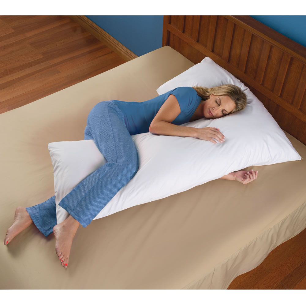 L Shaped Pillow That Prevents Overheating Across Your