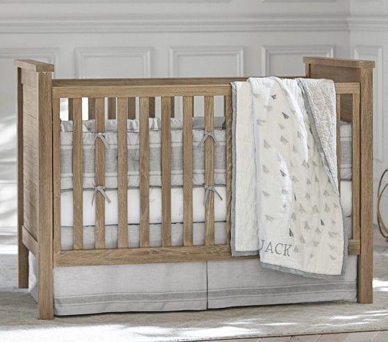 monique lhuillier paper planes nursery bedding sets pottery barn kids - Pottery Barn Babies Room