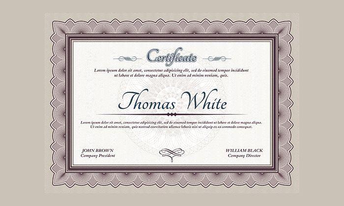 template sertifikat