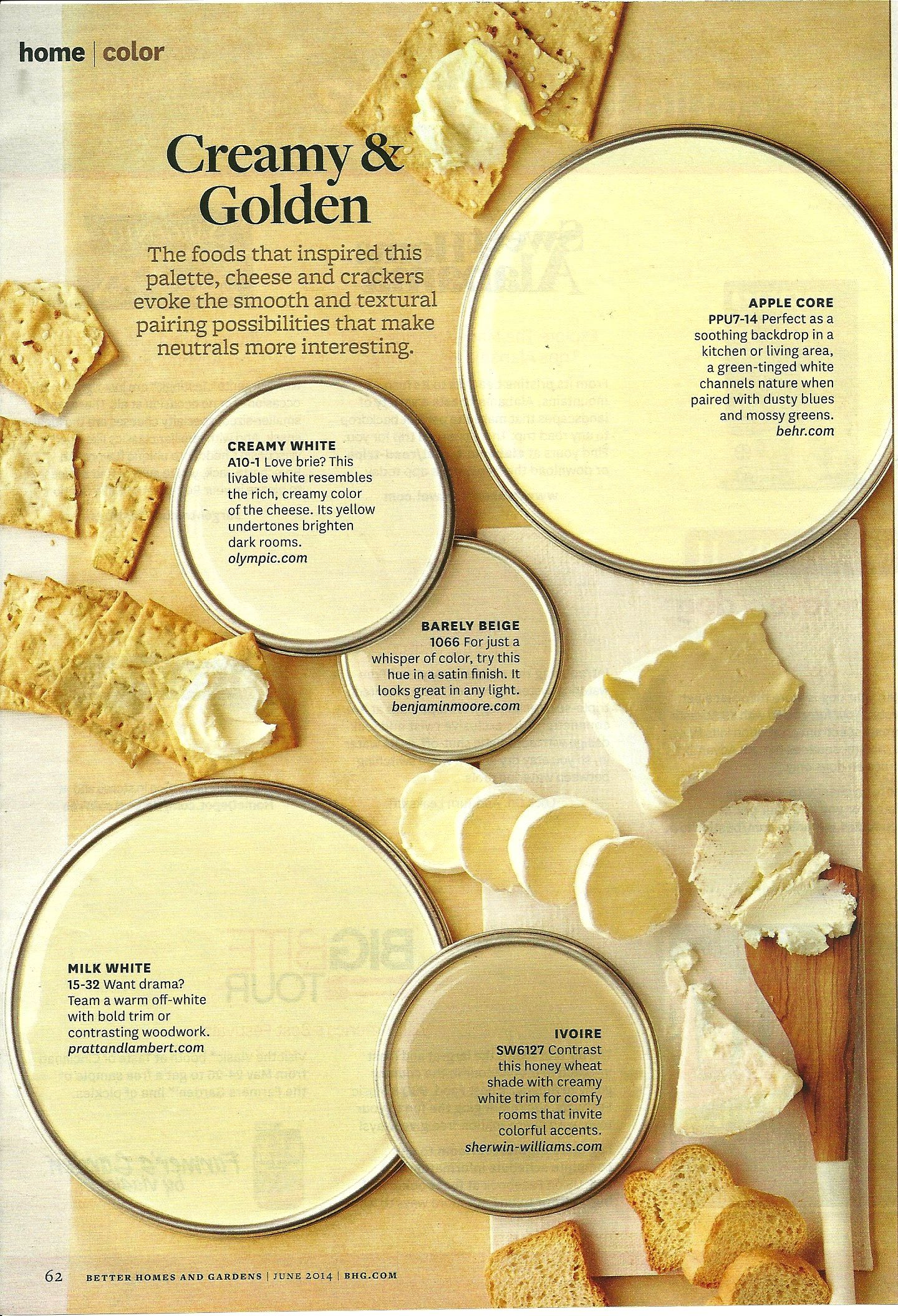 Cream and Golden - BHG | COLOR | Pinterest | Decorating, Room colors ...