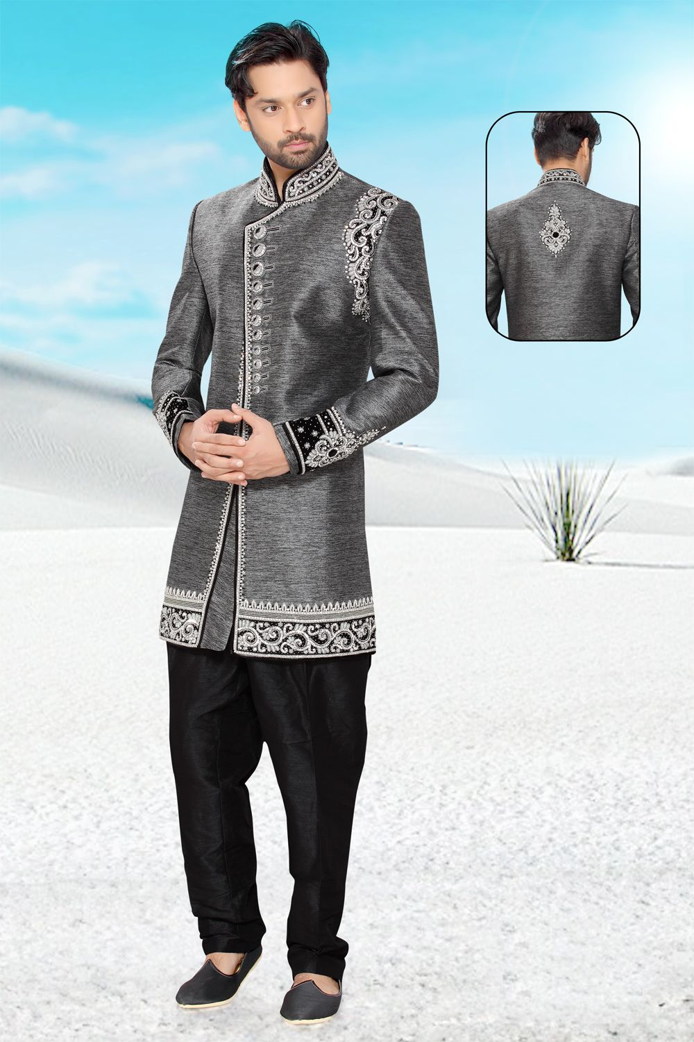 Pin by Variety Haat on Ethnic Wear for men, UK | Pinterest | Sherwani