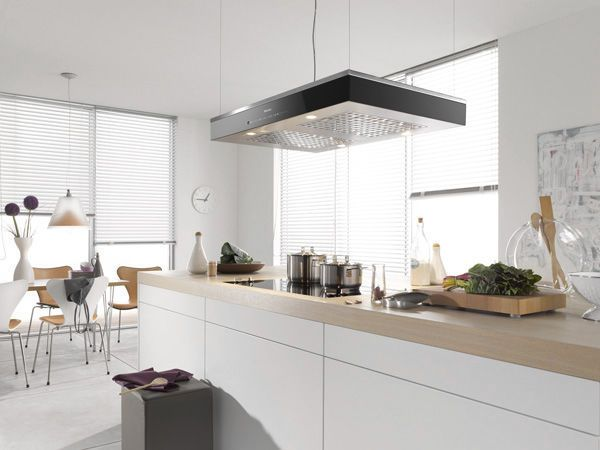 Island Extractor Hood / Original Design / With Built In Lighting DA6700 D  Miele
