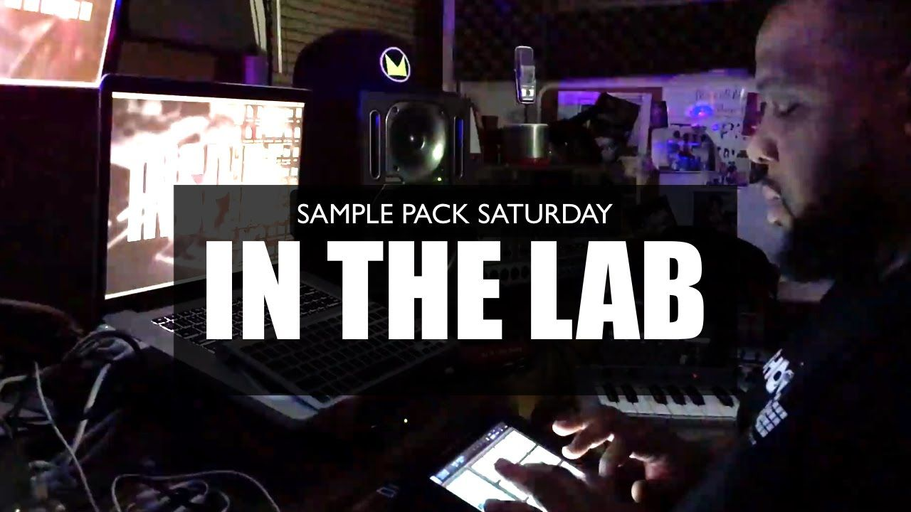 In The Lab] Beat Making With Maschine Masters Sample Pack Saturday