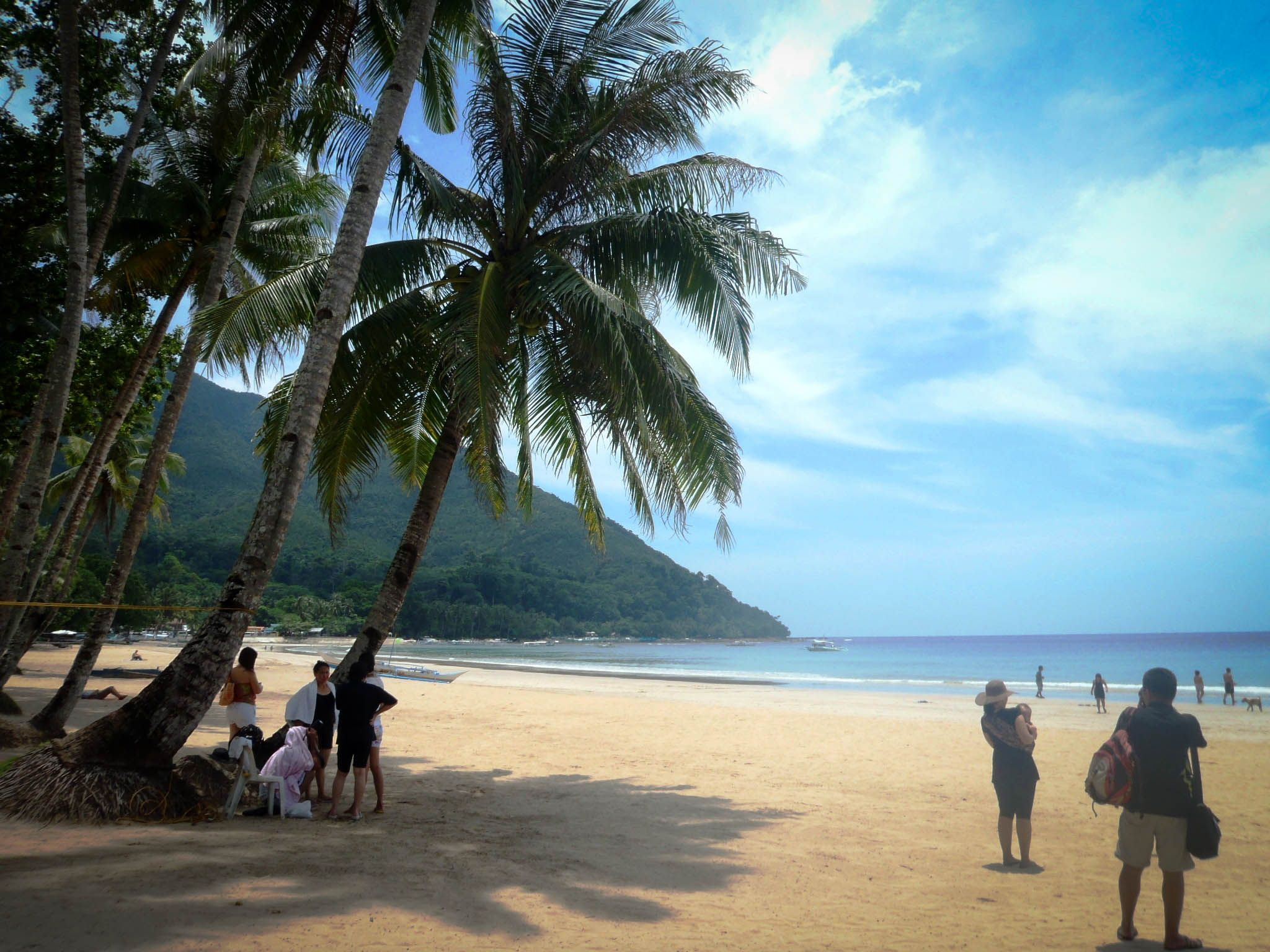 Sabang Beach  Puerto Princesa, Palawan  Philippines