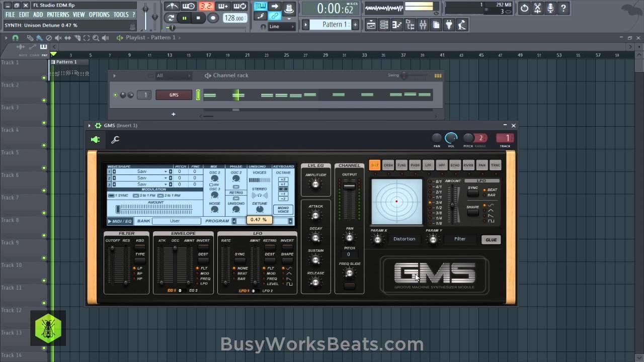 Fl Studio 12 Beginners Edm Tutorial No Extra Plugins Required Edm Studio Recorder Music