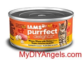 FREE IAMS Canned Cat Food at Target or Walmart! Cat food