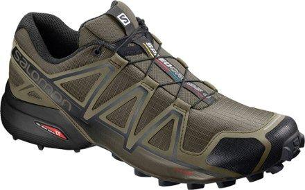 Salomon Men's Speedcross 4 Trail Running Shoes Grape Leaf