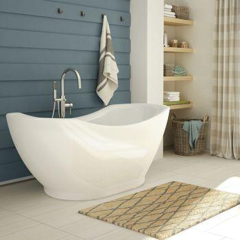 Freestanding Oval Bathtub  1399 99 costco. Jono Cybele 67 in  Freestanding Oval Bathtub  1399 99 costco