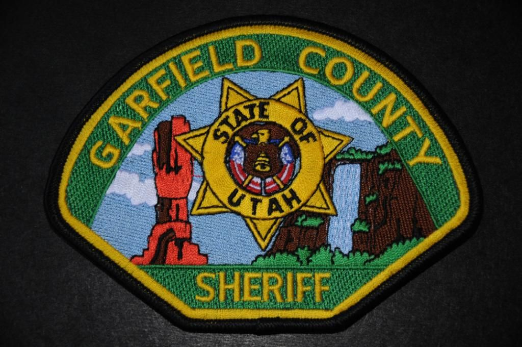 Garfield County Sheriff Patch Utah Current Issue Sheriff Badge Police Patches Garfield County