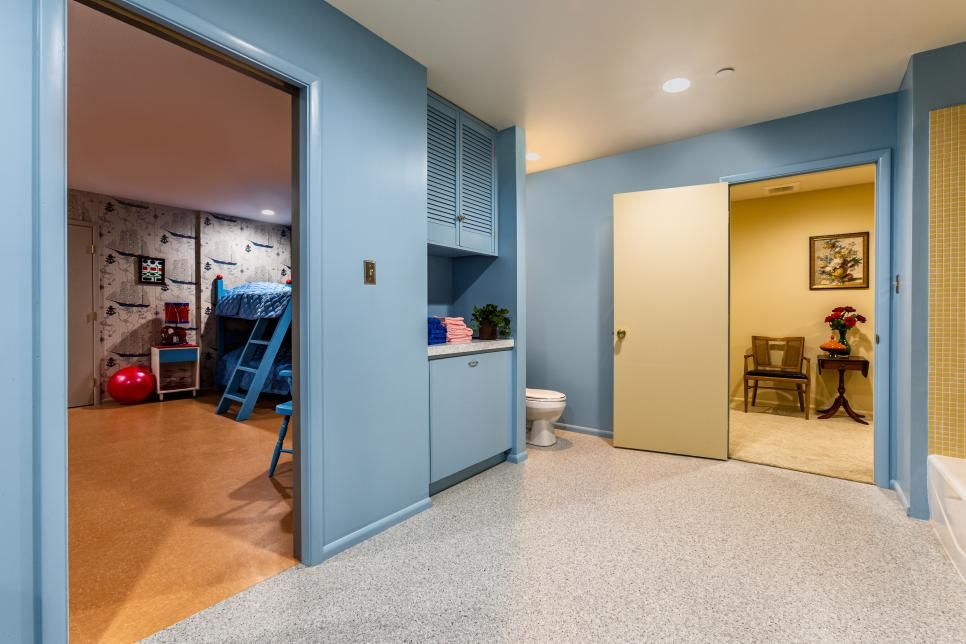 The Brady Bunch House Renovation Revealed - Part 2: Mike's Den and the Kids' Rooms | HGTV's A Very Brady Renovation | HGTV #bradybunchhouse