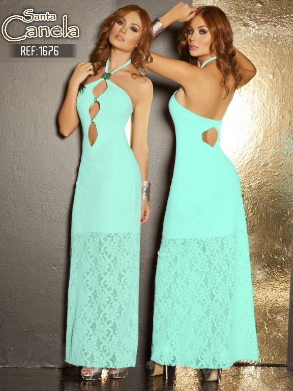 Vestidos de fiesta moda colombiana