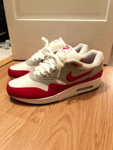 Nike Air Max 1 OG University Red Anniversary Size 11 Men s Great Condition! bcc9afd47