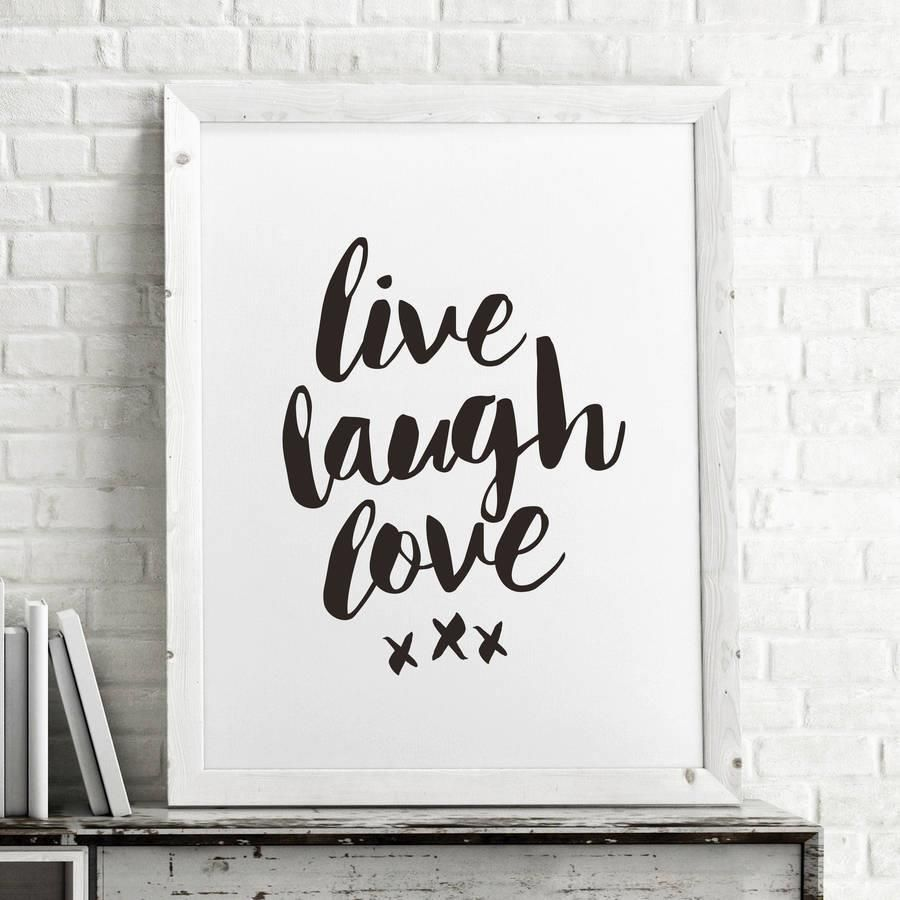 Live laugh love azondpbmrt motivational