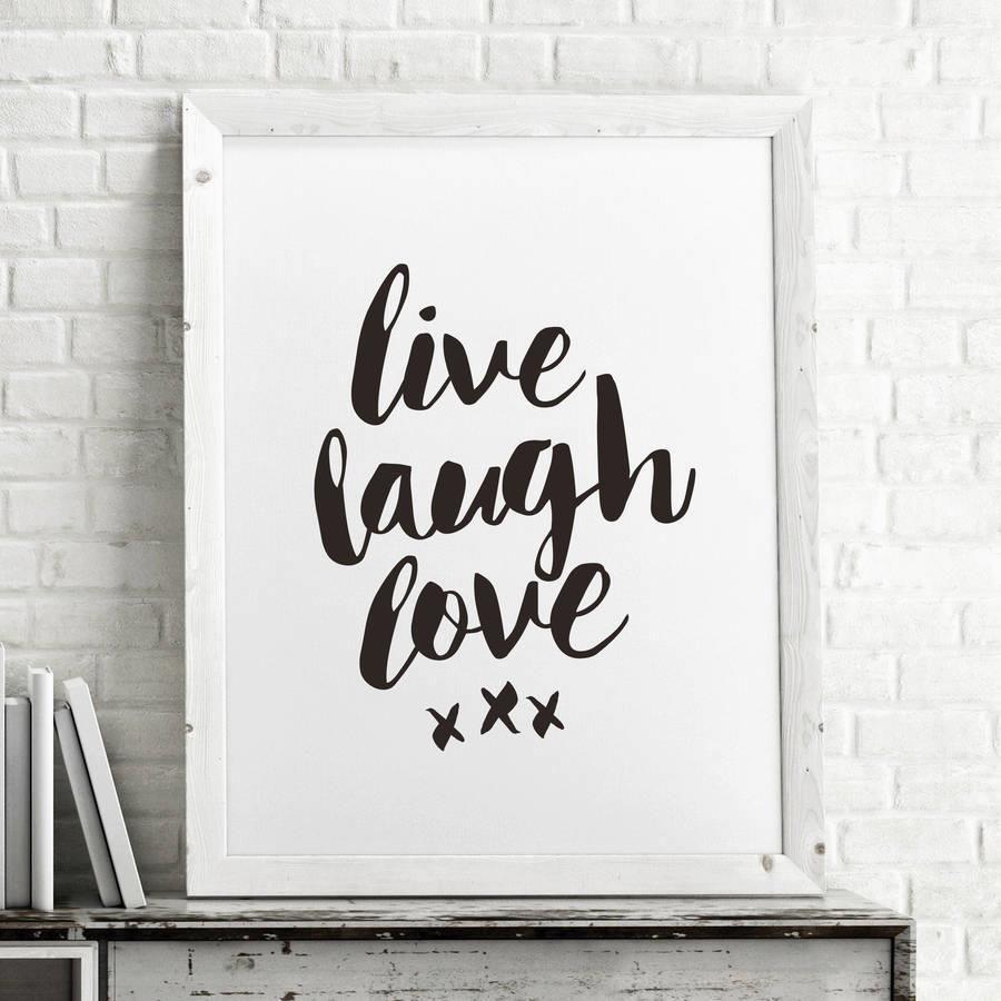 Live laugh love azondpbmrt motivational