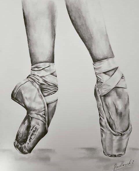 Nice   Danza   Disegno di ballerina, Scarpe da punta e