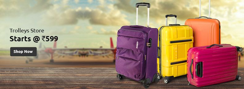 Buy Luggage & Travel Bags Online Store in India. Select from the ...