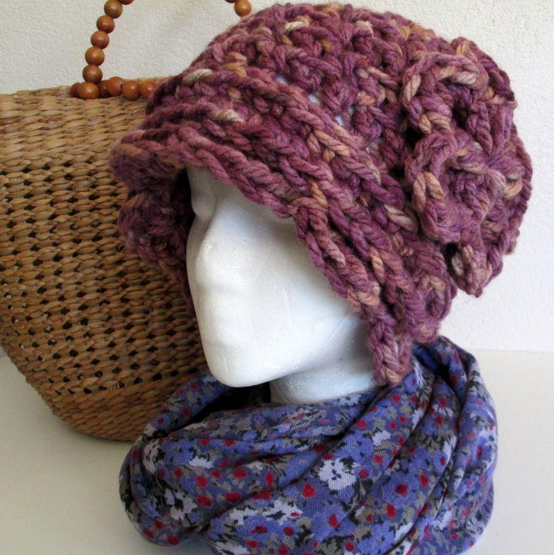 Daisy\'s Cloche Crochet Hat Pattern | Crochet Patterns | Pinterest ...