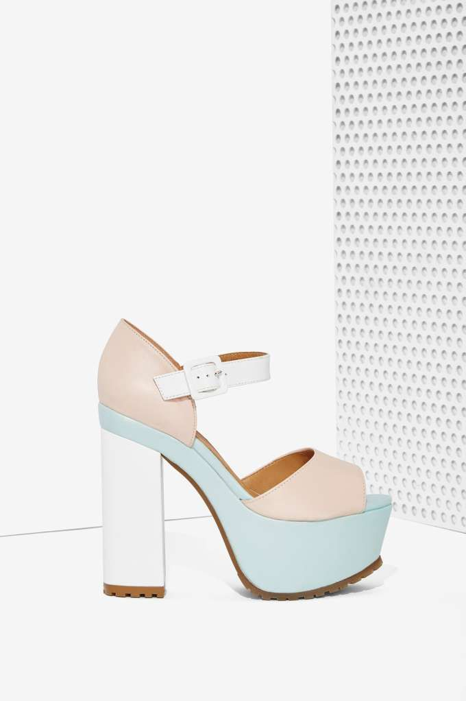 03d093e886b Nasty Gal Sorbet Leather Platform