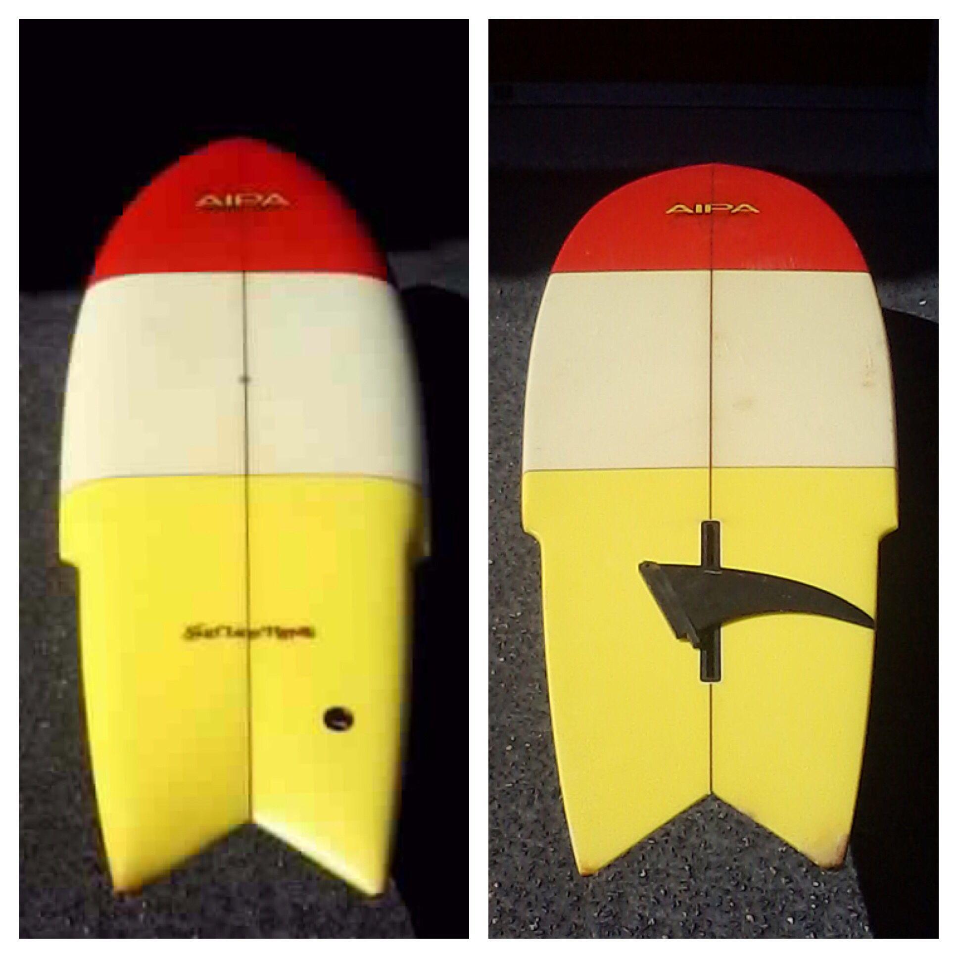 Vintage Ben Aipa Stinger Surfline Hawaii 5 10 The Vintage