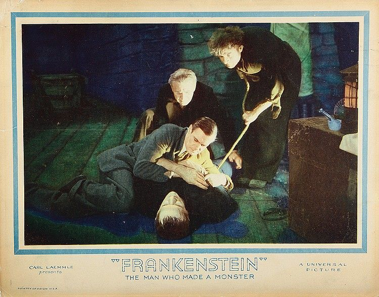 Boris Karloff Lobby Card From Frankenstein Universal 1931