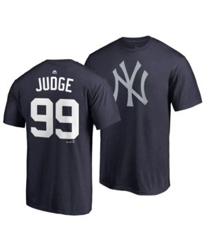 Majestic Men s Aaron Judge New York Yankees Player s Weekend Name and  Number T-Shirt - Blue XXL c334521b1c4