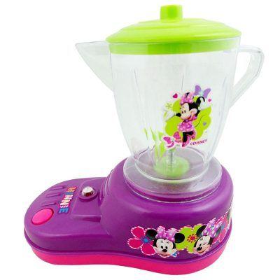 3 Mini - Cafeteira Batedeira Liquidificador Minnie Bow Tique - R$ 98,99 no MercadoLivre