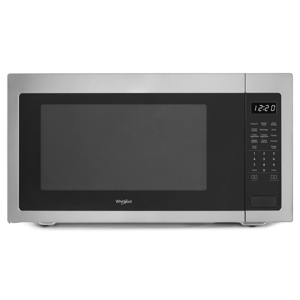 Whirlpool 2 Cu Ft Countertop Microwave In