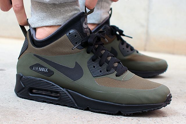 discount nike air max 90 mid winter verde 2910f ee6a9