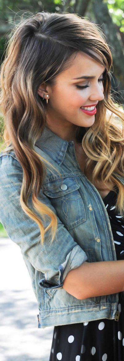love the style and looks like my natural ombre color too! ;)