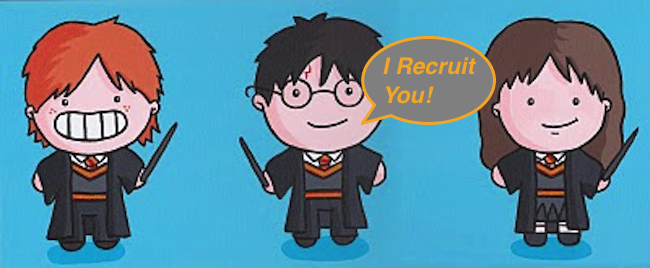 Harry Potter, The Recruiter!   #HarryPotter