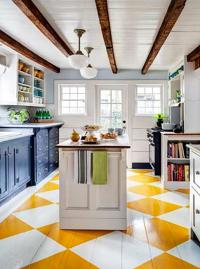 15 Bright Yellow Kitchens That Will Make You Smile ...