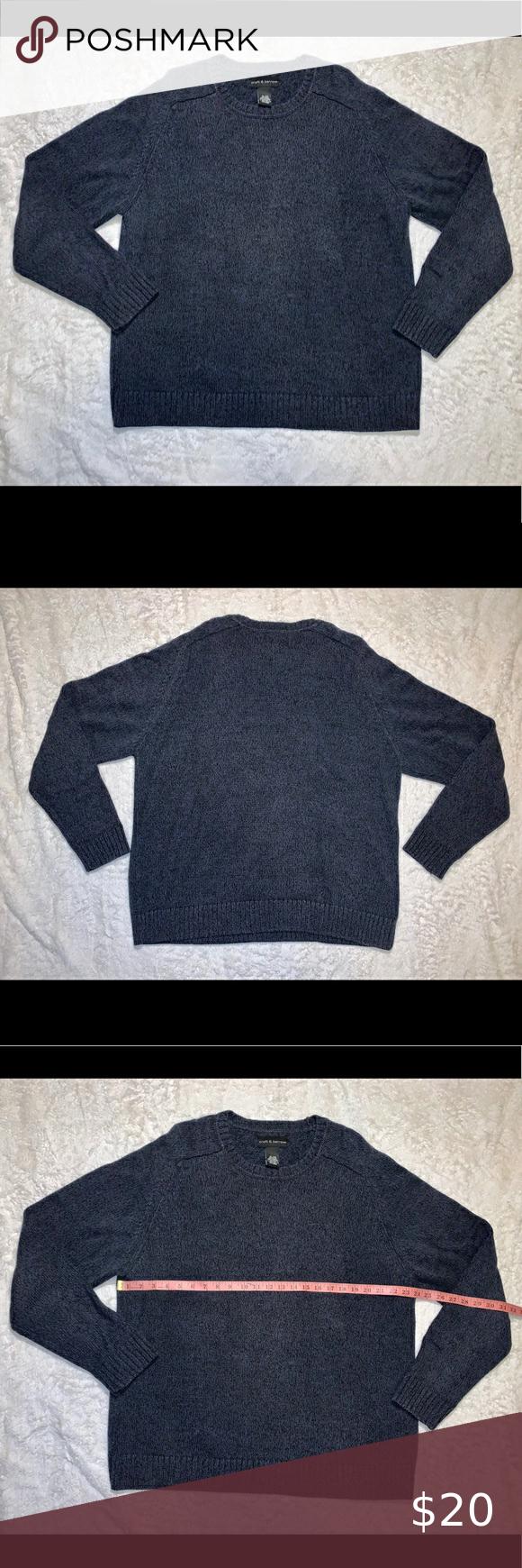 Croft Barrow Crew Neck Sweater Men S Xl Crew Neck Sweater Men Crew Neck Sweater Men Sweater [ 1740 x 580 Pixel ]