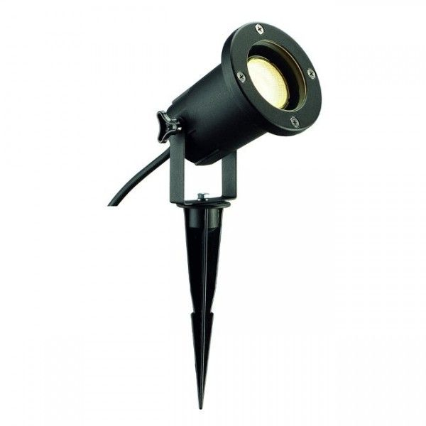 Outdoor Ground Lights Slv 227410 ip65 garden spike outdoor ground light black led lights slv 227410 ip65 garden spike outdoor ground light black workwithnaturefo