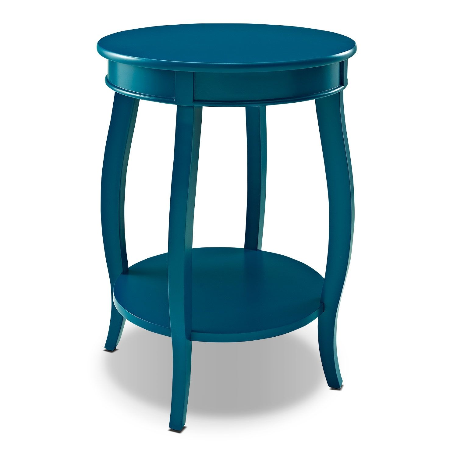 Accent And Occasional Furniture Sydney Accent Table Teal With