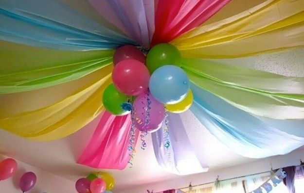 Decoración cumpleaños infantiles Manualidades para hacer en casa