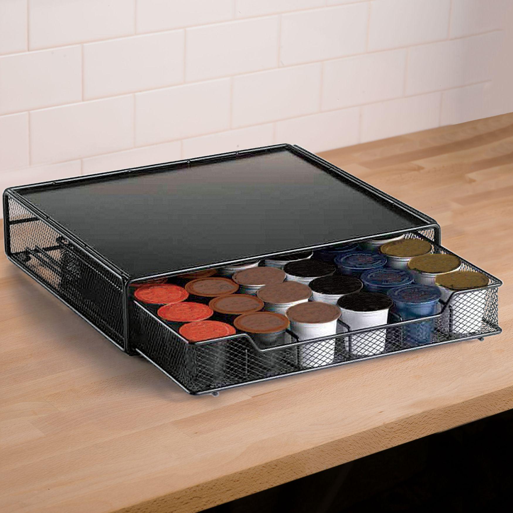 Coffee Pod Drawer Holder Cleaning & Storage