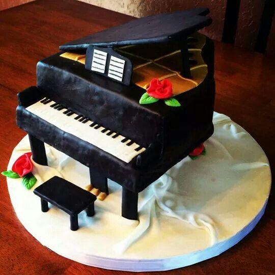 taart piano Piano taart | piano taarten | Pinterest taart piano