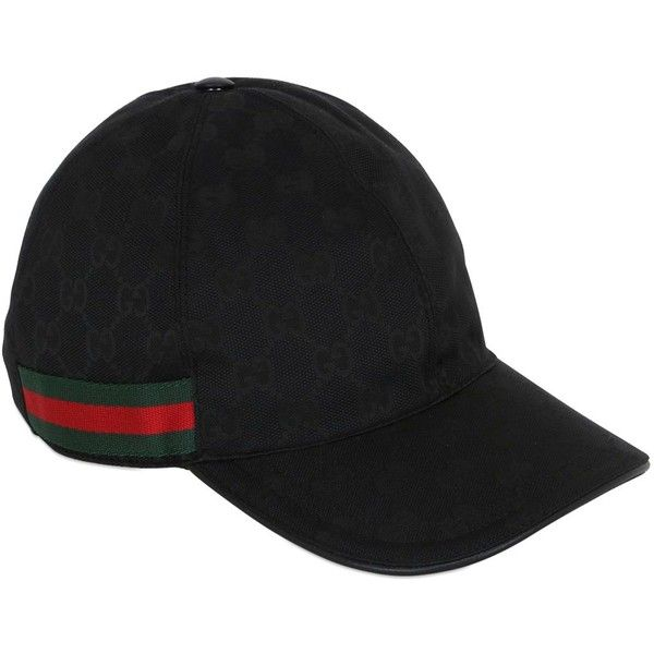 Gucci Men Original Gg Canvas Baseball Hat ( 275) ❤ liked on Polyvore  featuring men s fashion 9880eecd1f7