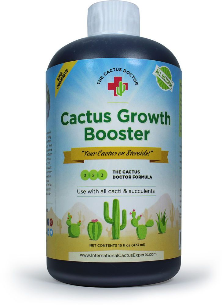 The Cactus Doctor Cactus Growth Booster Cacti Succulent