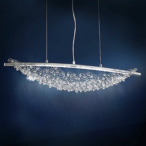 Amaca led linear suspension the crystalslighting productspendant